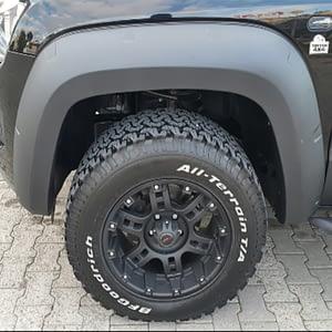 Protecție pentru aripi Kaplama - Volkswagen Amarok 17' - Prezent