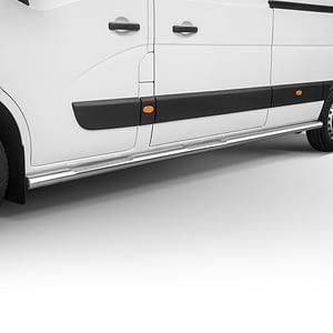 Praguri cu treaptă din Inox - Opel Movano '19 - Prezent
