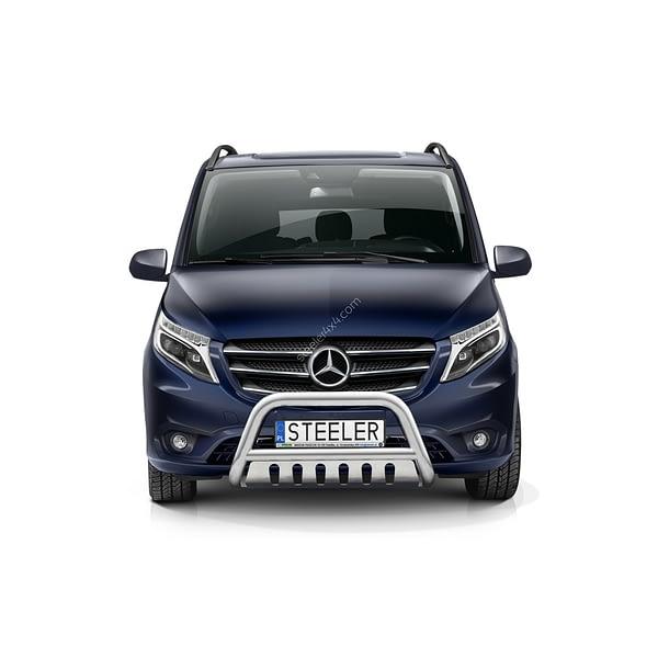 Bullbar Omologat - Model 2 Mercedes-Benz Vito '15 - Prezent