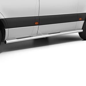 Praguri cu treaptă din Inox - Mercedes-Benz Sprinter (LWB) '18 - Prezent