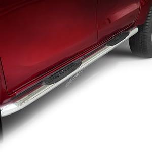 Praguri cu treaptă din cauciuc curbată - Toyota Hilux '15 - Prezent