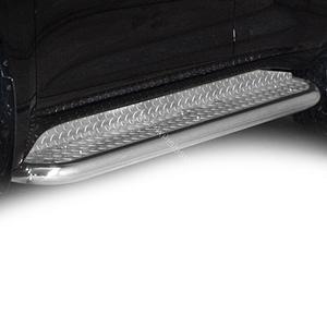Praguri cu treaptă lată din Inox - Toyota Land Cruiser '10 - '13
