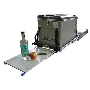 Sistem culisant pentru lădițe frigorifice cu măsuță - 1