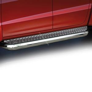 Praguri cu treaptă lată din Inox - Volkswagen Amarok '17 - Prezent
