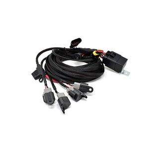 Kit electric Four-Lamp Carbon față