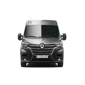 Bullbar Omologat - Model 4 Negru Renault Master '19 - Prezent