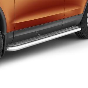 Praguri cu treaptă lată din Inox - Land Rover Discovery '17 - Prezent