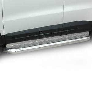 Praguri cu treaptă lată din Inox - Volkswagen Tiguan '07 - '16