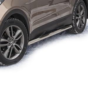 Praguri cu treaptă din cauciuc - Hyundai Santa Fe '12 - Prezent