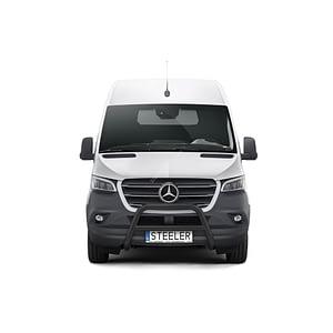Bullbar Omologat - Model 3 Negru Mercedes-Benz Sprinter '18 - Prezent