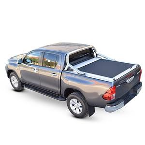 Rulou benă Double Cab argintiu Toyota Hilux - '15 - Prezent cu rollbar OEM 1