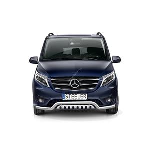 Bullbar Omologat - Low 2 Mercedes-Benz Vito '15 - Prezent