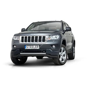 Bullbar Omologat - Low 3 Negru Jeep Grand Cherokee '11 - '14