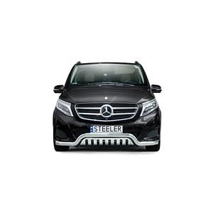 Bullbar Omologat - Low 2 Mercedes-Benz Vito '11 - '15