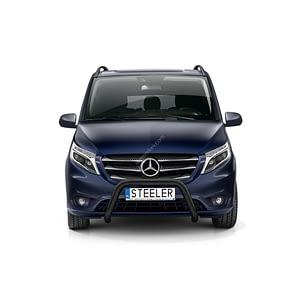 Bullbar Omologat - Model 4 Negru Mercedes-Benz Vito '15 - Prezent