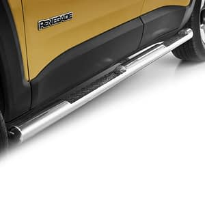 Praguri cu treaptă din Inox - Jeep Renegade '14 - Prezent
