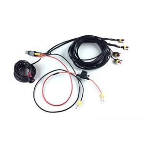 Kit electric Four-Lamp cu buton față