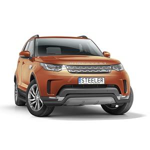 Bullbar Omologat - Low 3 Negru Land Rover Discovery '17 - Prezent