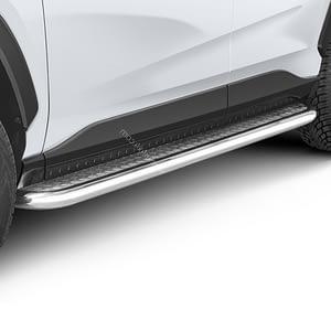 Praguri cu treaptă lată din Inox - Toyota RAV4 '18 - Prezent